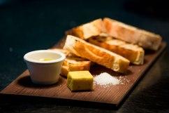 Locally baked ciabatta and Tasmanian olive oil